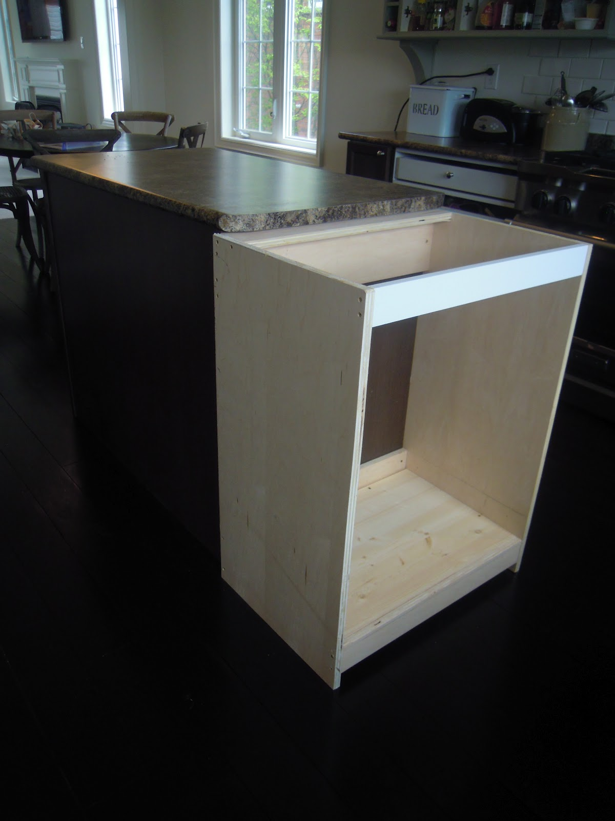 Kitchen Island Extension Details