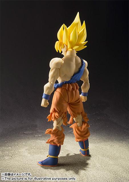 action figure son goku super saiyan awakening version