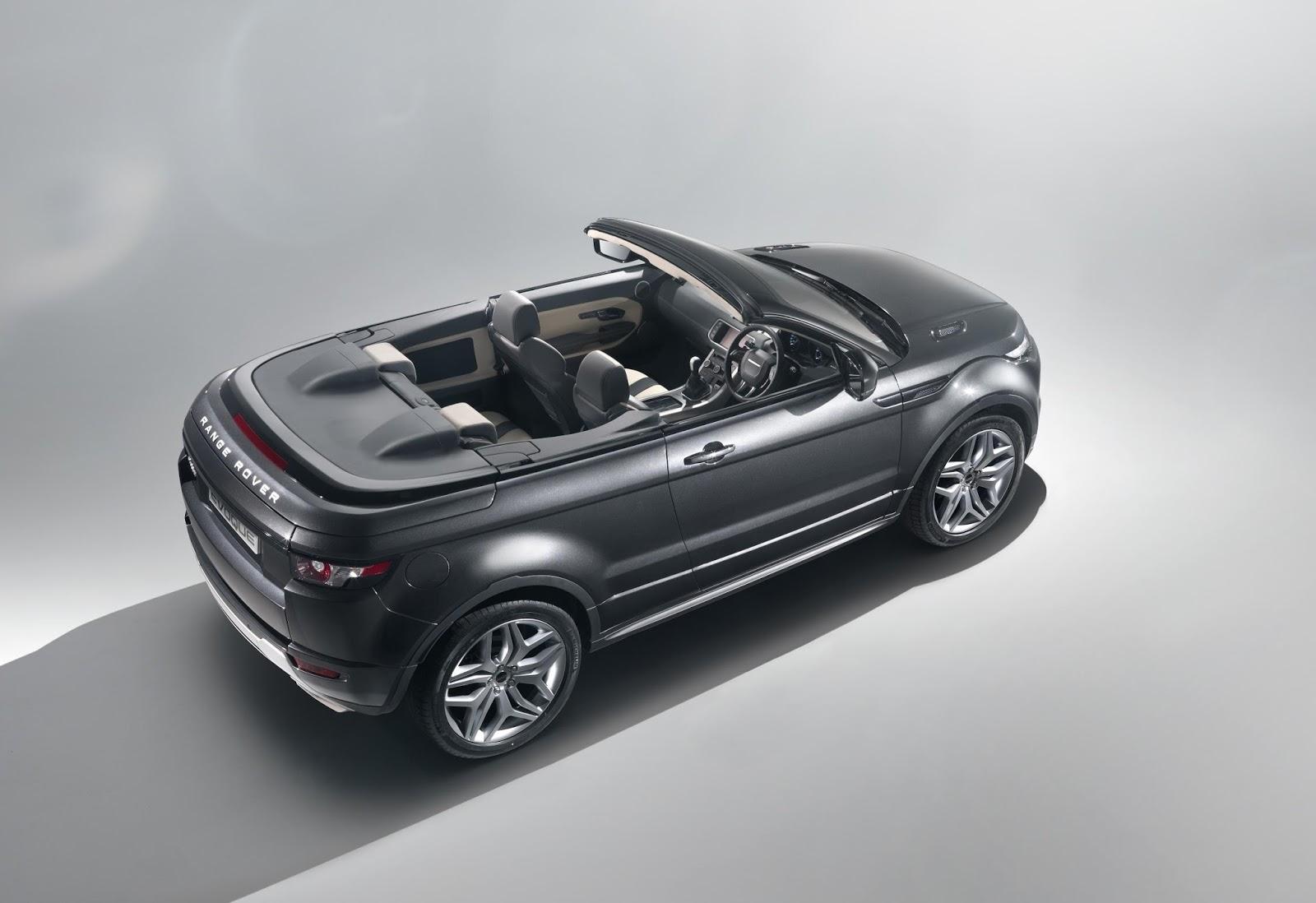 2014 Range Rover Evoque convertible