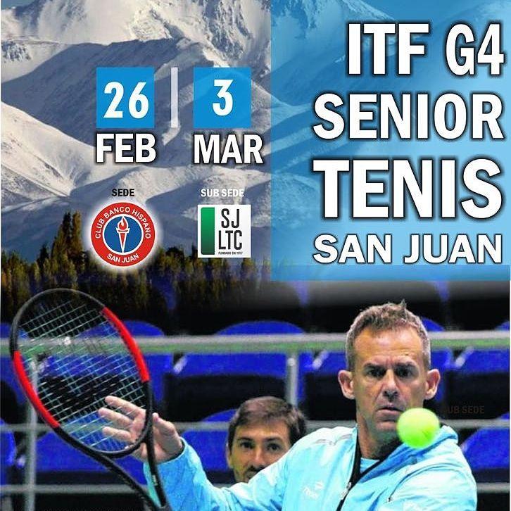ITF SENIORS G4 - SAN JUAN - 2018