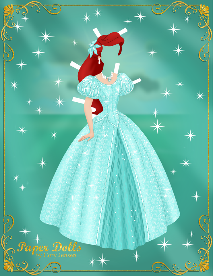 Disney Movie Princesses Princess Paper Dolls Princess Paper