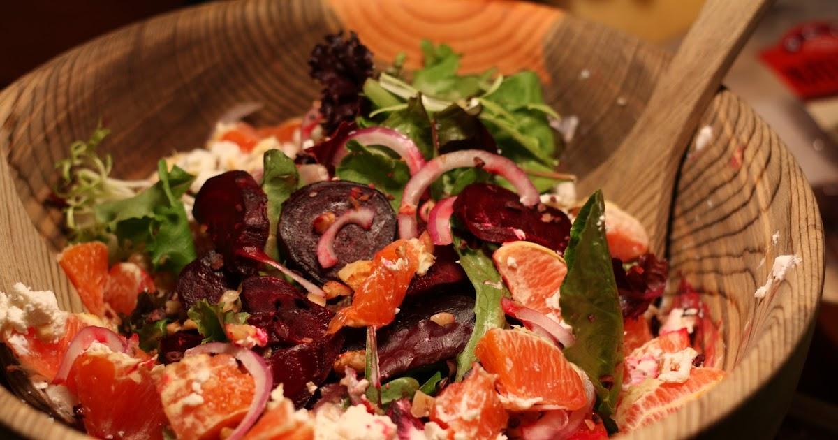 Flourishing Foodie: Roasted Beet and Chocolate Salad