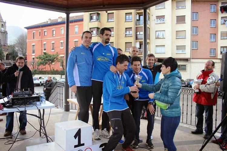 Cross Escolar y Campeonato de Bizkaia de Cross de Veteranos, en Muskiz