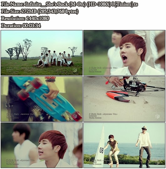 Download MV Infinite - She's Back (M-On Full HD 1080i)