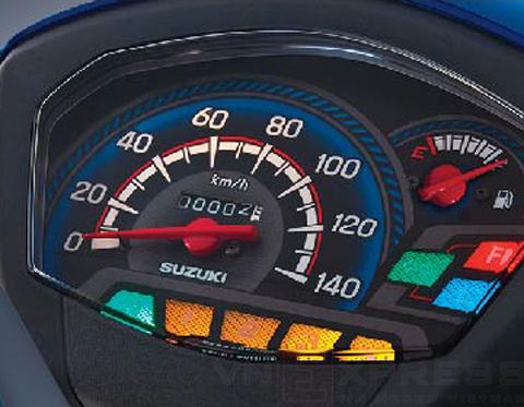 Mặt đồng hồ Suzuki Viva 115 FI 2013,Suzuki Viva
