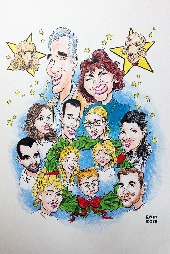 Erik Johnson Illustrator: Giblin Family Christmas