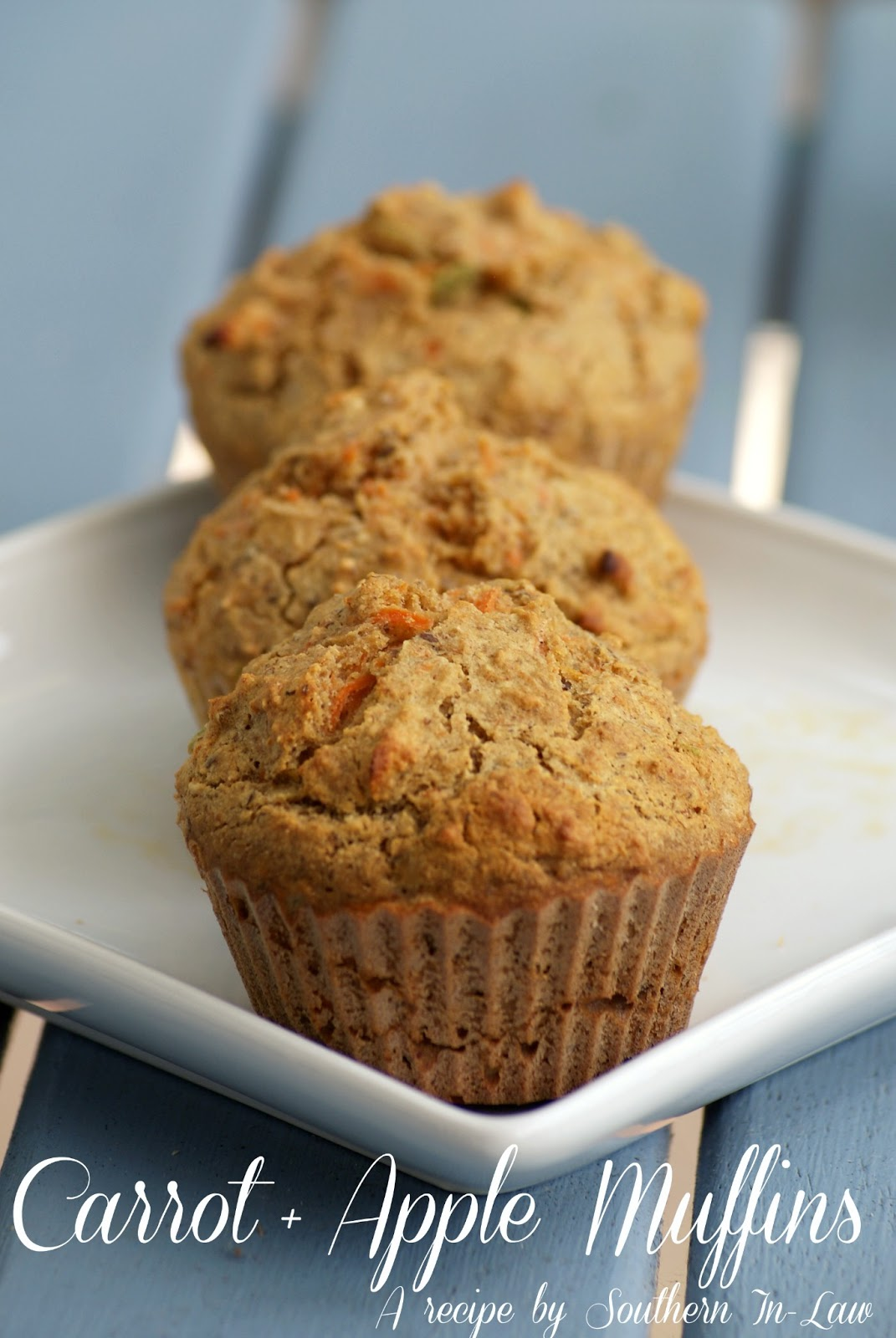 Low Fat Carrot and Apple Muffin Recipe