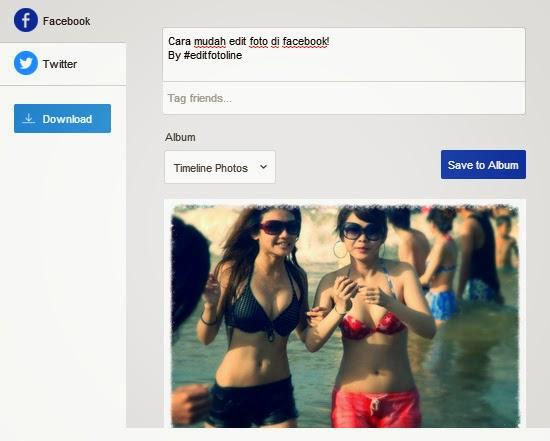 Cara Mudah Edit Foto Online di Facebook
