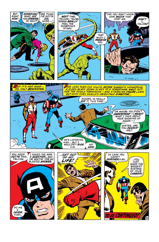 Captain America (1968) Issue #151 #65 - English 21