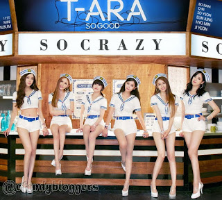 T-ara So Crazy Photos New