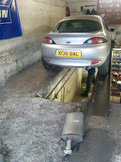 Ford Puma complete replacement exhaust cost