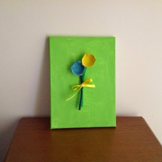 kids art, easy Mother's Day gift
