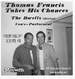 Thomas Francis THC | The Dwells | Vows | Parlormint at Maxwells