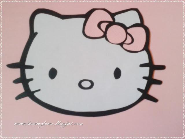 Hello Kitty - zaproszenie czy kartka urodzinowa ? :)