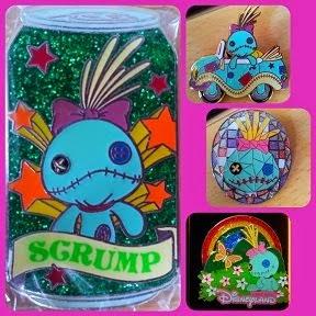 2009 HKDL SCRUMP PINS