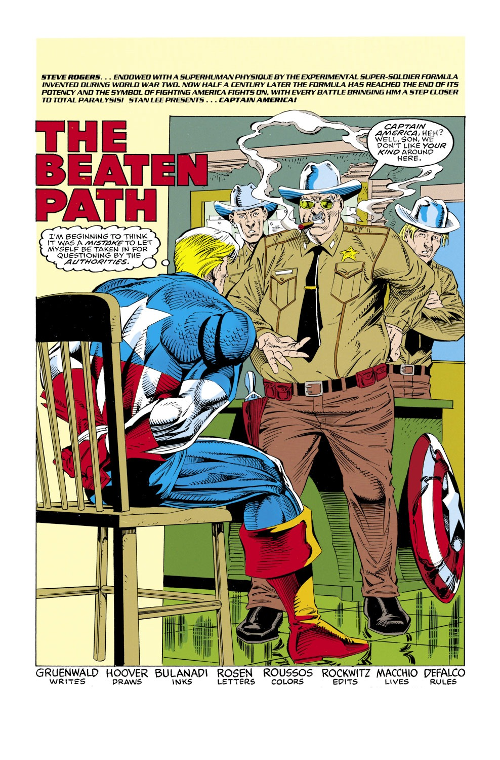 Captain America (1968) Issue #429 #379 - English 2