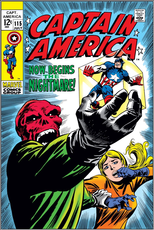 Captain America (1968) Issue #115 #29 - English 1