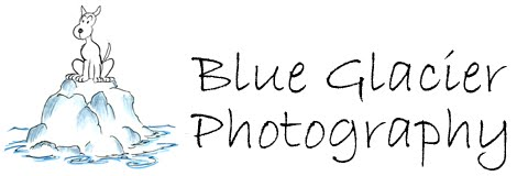 Blue Glacier Photography