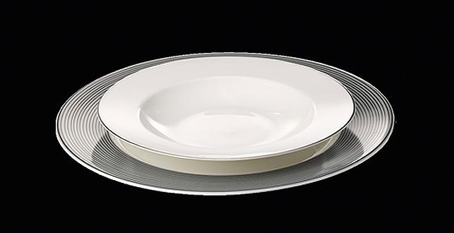 dibbern modern bone china tableware themodernsybarite. Black Bedroom Furniture Sets. Home Design Ideas