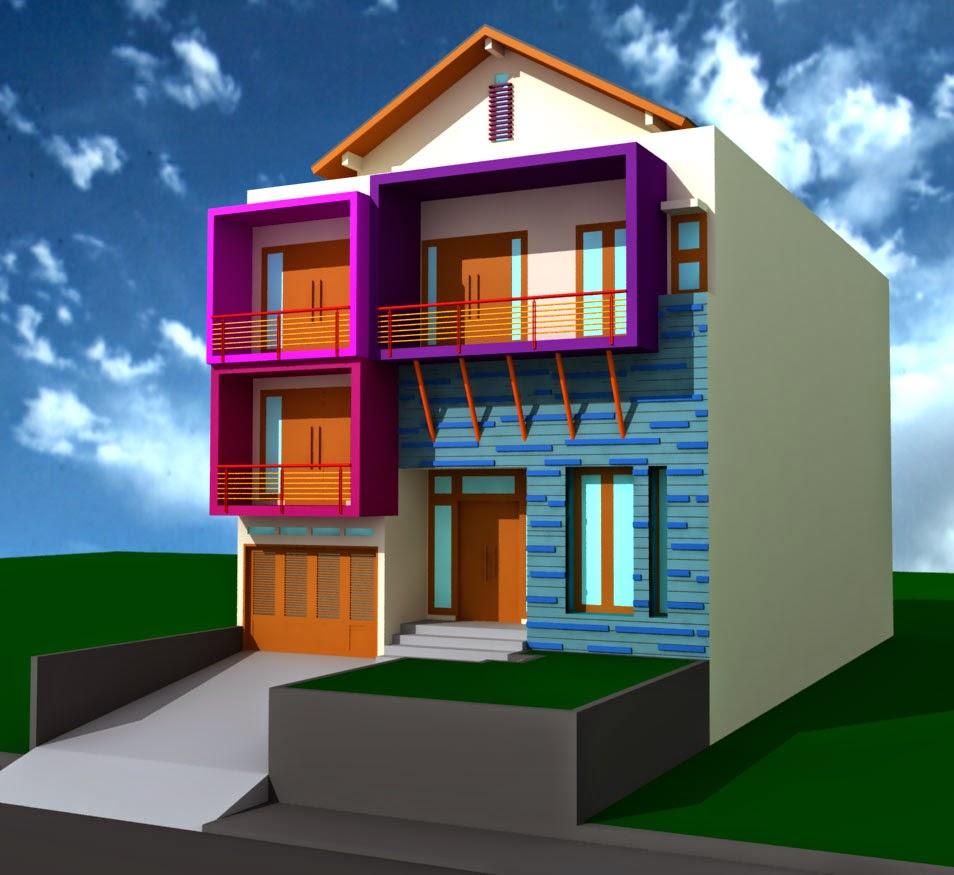 Gak lihat rugi desain rumah minimalis modern 2 lantai for House minimalis