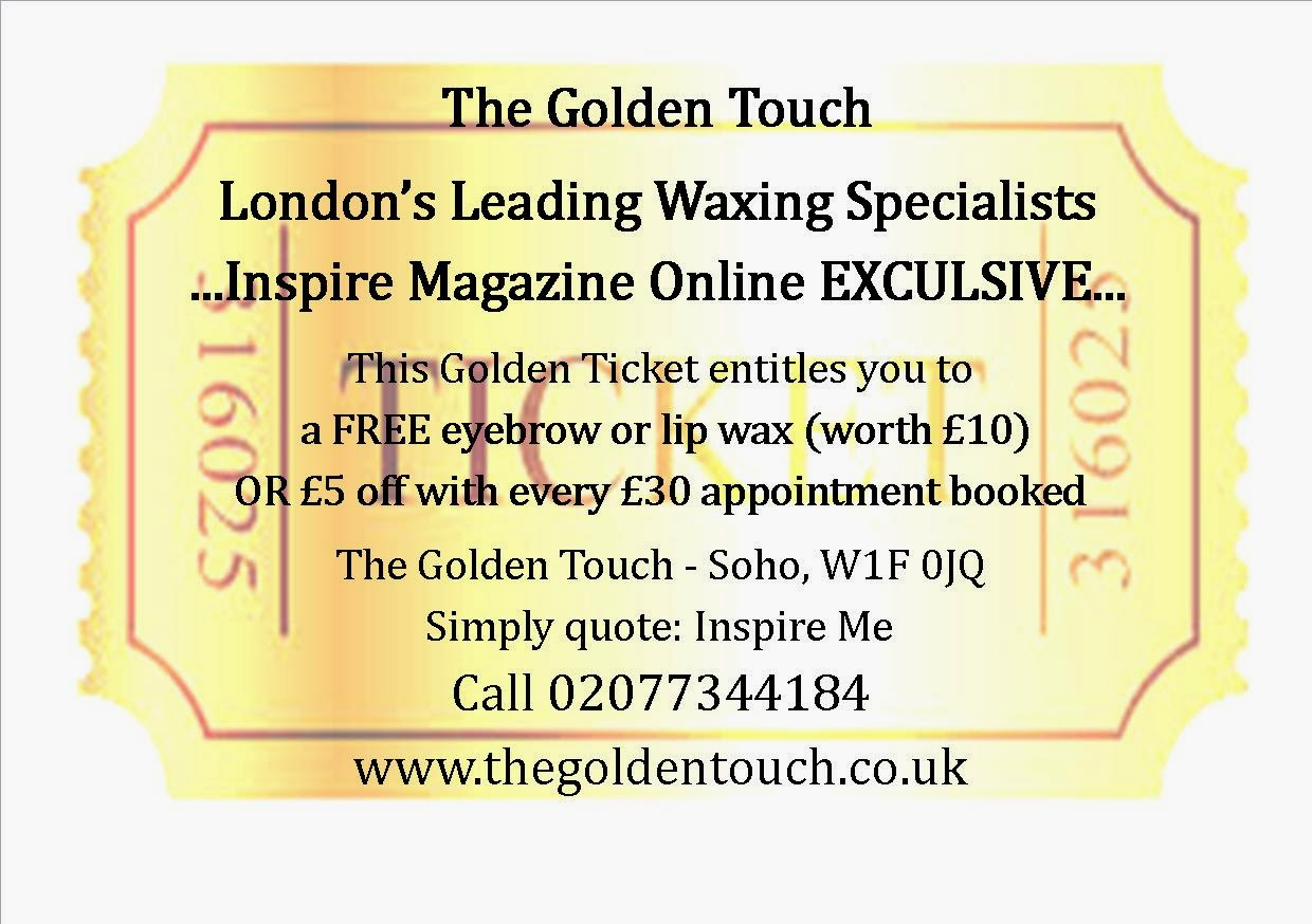 Inspire Magazine Online - UK Fashion, Beauty & Lifestyle blog | Review // Intimate Wax @ The Golden Touch; Inspire Magazine; Inspire Magazine Online; The Golden Touch; Bikini Wax; Hair Removal