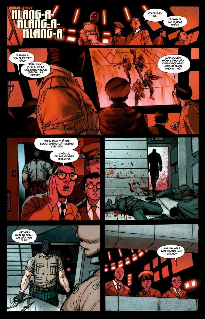 Ultimate Captain America chap 1 - Trang 12