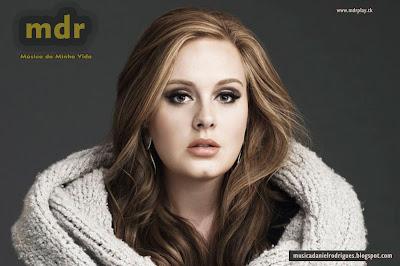 Adele - Capa divulgação - Blog Música da Minha Vida mdr