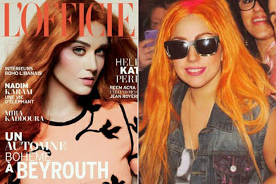 Katy Perry Orange Hair