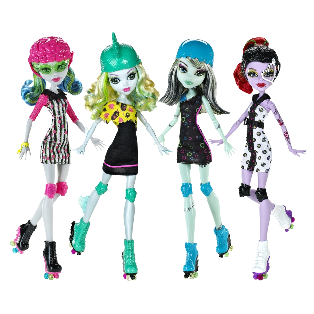 Muñecas Monster High Skultimate Roller Maze para imprimir