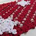 Vídeo aula aplique natalino Flocos de neve