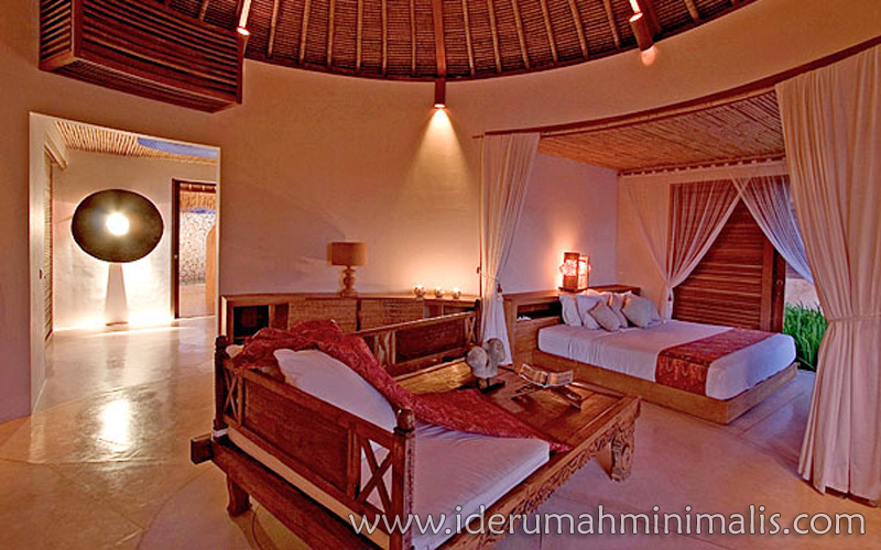konsep penataan ruang tidur rumah minimalis modern