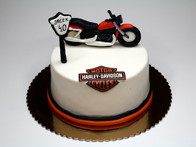 Harley Davidson Birthday Cake in London