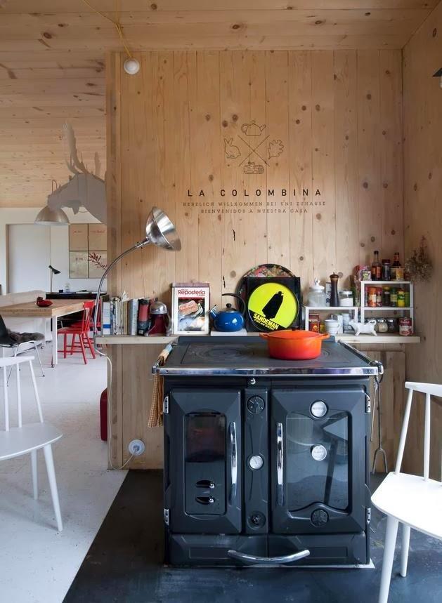 Rumah Kabin Kecil Terbuat Dari Kayu   Model Denah Rumah Minimalis