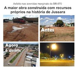 A MAIOR OBRA CONSTRUÍDA COM RECURSOS PRÓPRIOS NA HISTÓRIA DE JUSSARA!
