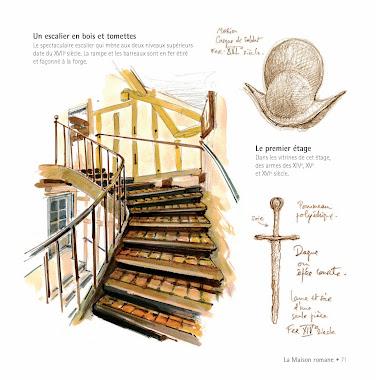 L'escalier du musée