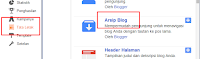 Arsip Blog Archive Dengan Scroll