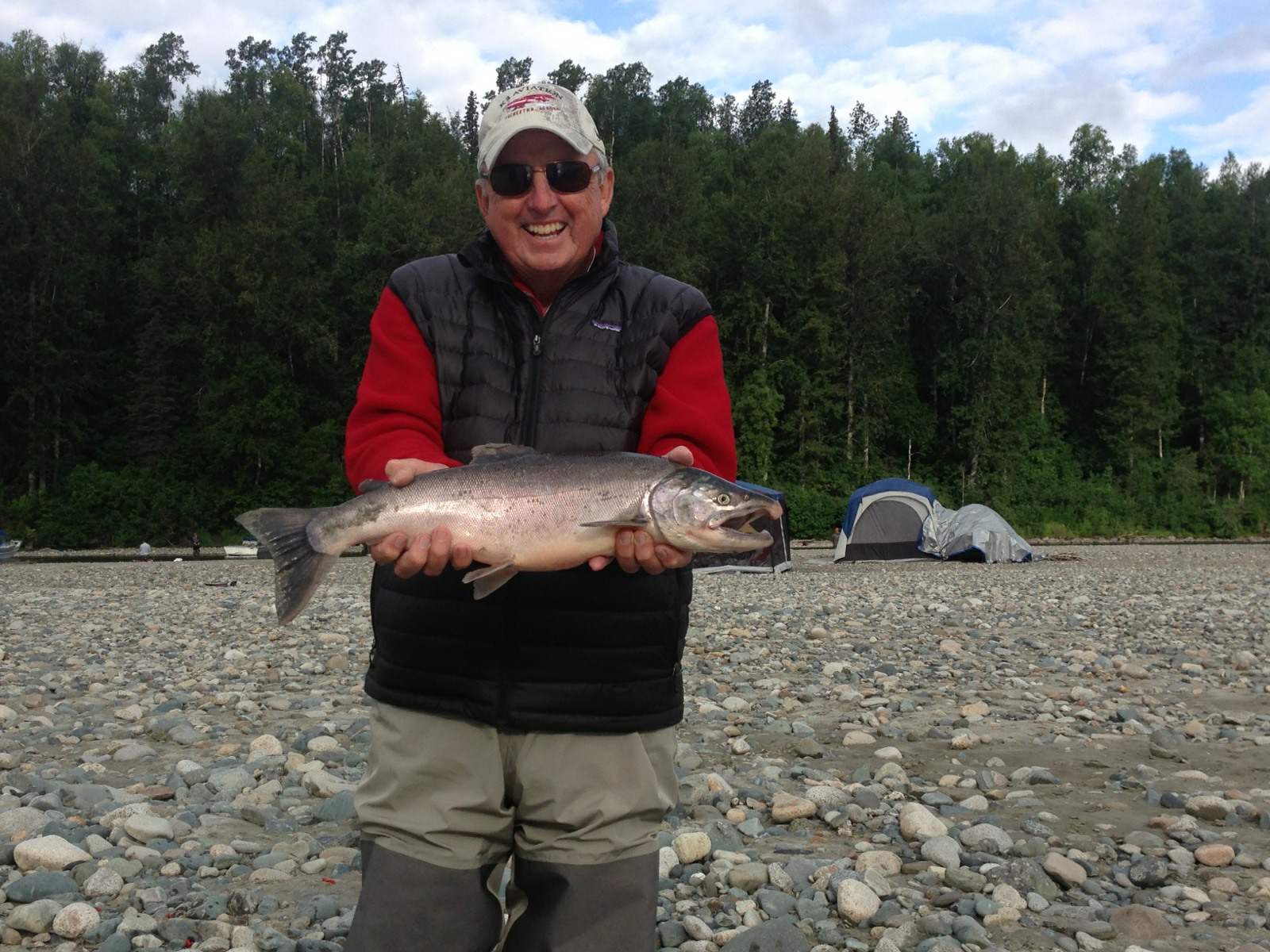 Fish on alaska salmon fishing report for august 14 2013 for Alaskan salmon fishing
