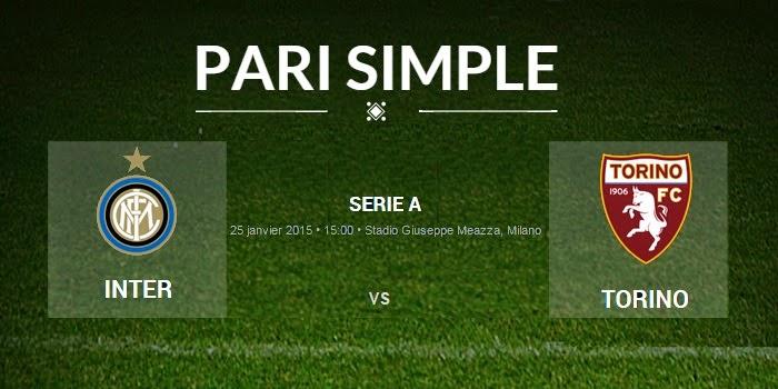 pronostic Inter Milan - Torino