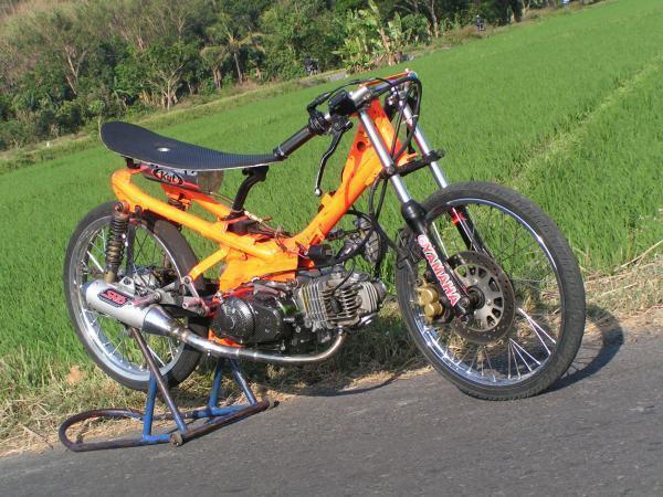 Artikel Terkait Yamaha Jupiter Z Drag Race Style Modifikasi : title=