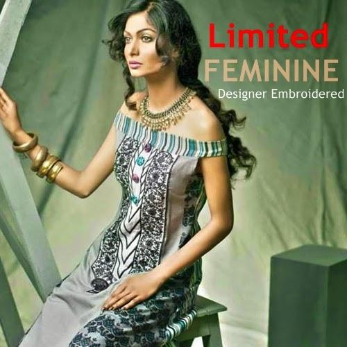 Feminine Lawn 2014 Vol-2