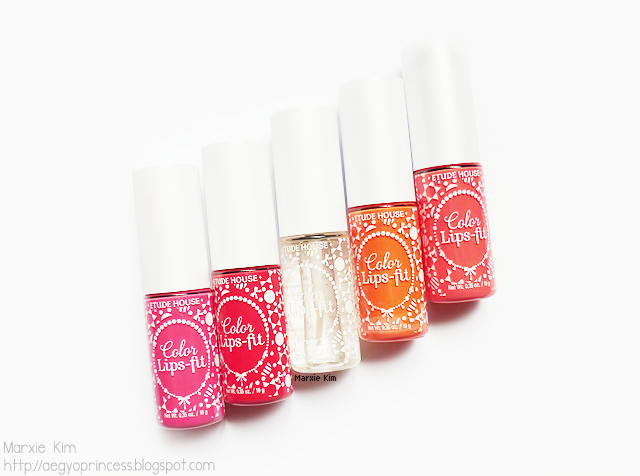 Etude House Color Lips Fit Review and Swatches