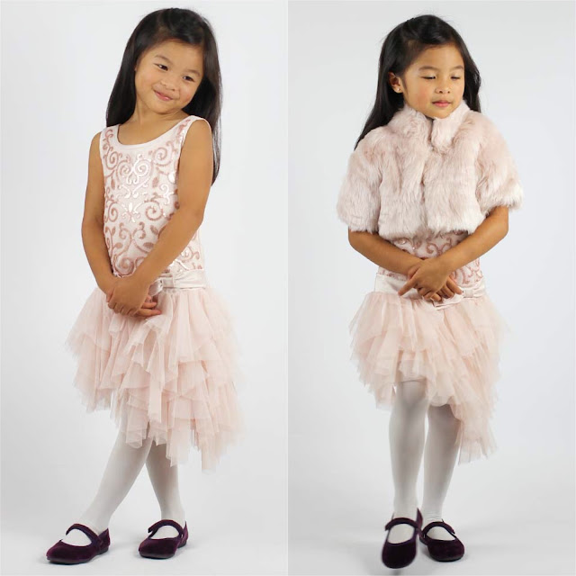 Biscotti Champagne Asymmetrical Hem Dress | Chichi Mary Blog