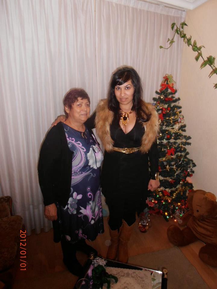 Stefania-Anca (Stefy) sora lui Miki, Ene, colega mea, si mama surorilor Ene