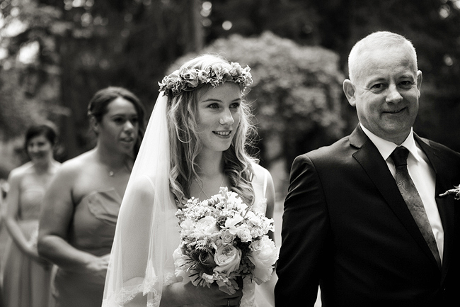{Lillian and Leonard Wedding Photography} bride and her father