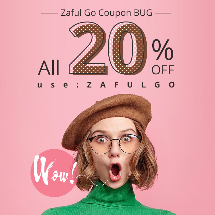 Wow! Zaful coupon bug