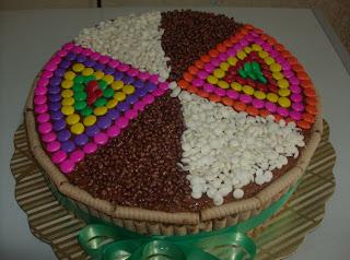 Torta De Pirulin Con Dandy  Cri Cri Y Gotas De Chocolate Blanco