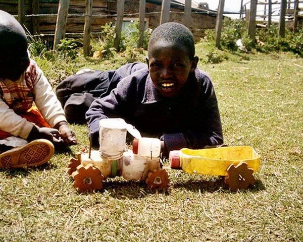 Toys For Poor : Pavan mickey toys of poor african children