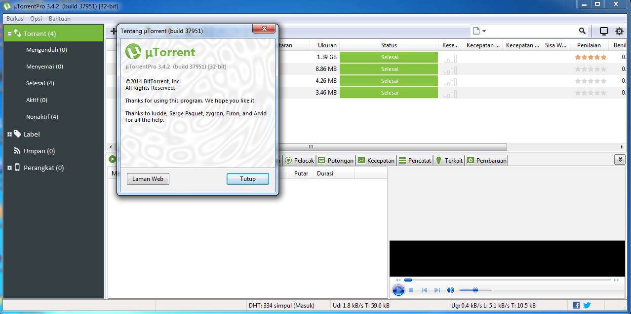 utorrent pro with crack for pc