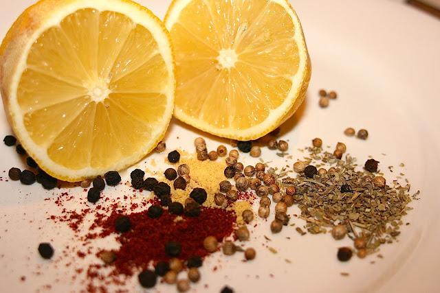 lemon & spices
