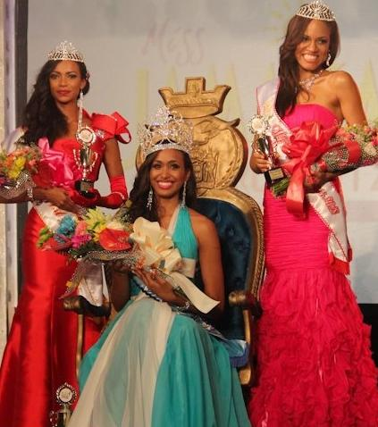 Miss Jamaica World 2012 winner Deanna Robins